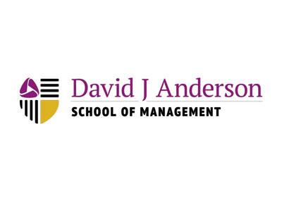 David J Anderson School of Management